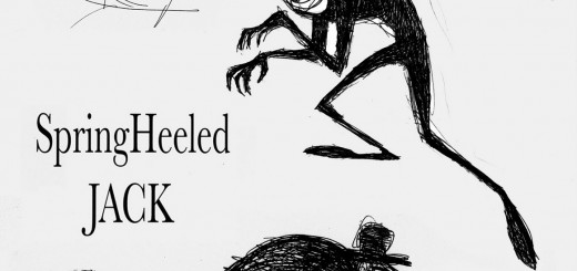 Spring Heeled Jack design by John Webber SCAD Animation Faculty