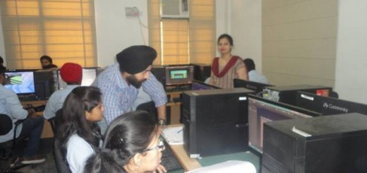 3D Game Design Workshop held at Chitkara University by Arena 17
