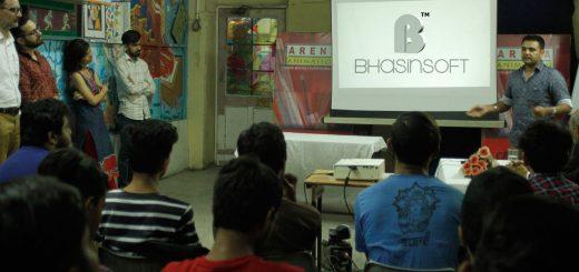 BhasinSoft Studio Visits Arena Chandigarh 17