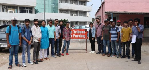 Industrial Visit by Arena Chandigarh students to The Tribune